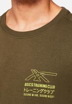 Asics Tiger - Graphic tee ii - green