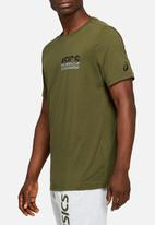 Asics Tiger - Graphic tee iii - green