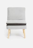 Sixth Floor - Jet slipper chair - grey