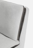 Sixth Floor - Jet slipper chair - grey