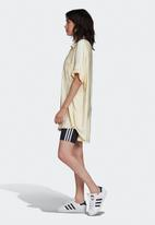 adidas Originals - Adicolour satin dress - yellow