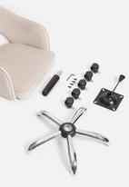 Sixth Floor - Sierra office chair - blush