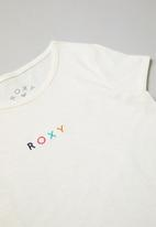 Roxy - Sound and colours tee - white