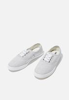 Cotton On - Juno plimsoll - soft grey