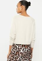 ONLY - Cecilia long sleeve cardi - pumice stone