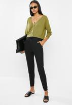 ONLY - Cecilia long sleeve cardi - green