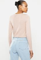 ONLY - Cecilia long sleeve pullover - rose smoke