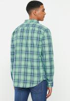 Levi's® - Classic 1 pocket standard shirt - green & blue