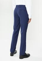 POLO - Classic custom fit formal trouser - blue