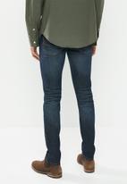 JEEP - Basic washed straight leg jeans - blue