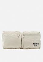 Reebok - Cl corduroy waistbag - white