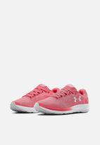 Under Armour - UA w charged pursuit 2 - pink lemonade/white/halo gray