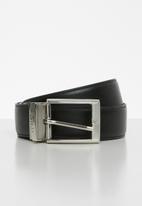POLO - Lancaster reversible belt - black & brown