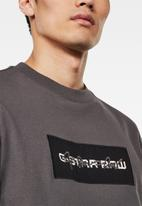 G-Star RAW - Box logo ebro gr tee - grey