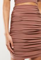 Blake - Ruched skirt - pink