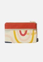Typo - Archer pencil case - multicoloured swirl