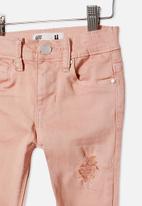 Cotton On - Drea skinny jean - dusty pink