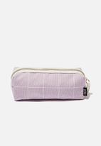 Typo - Bailey pencil case - purple