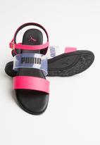 PUMA - Stylecat jelly wn s zadp - puma black/nrgy rose