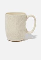 Typo - Ceramic mug - cream