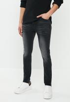S.P.C.C. - Krakatoa fashion sabre jeans - black