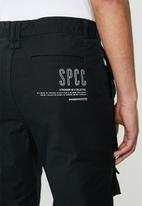 S.P.C.C. - Harrow premium utility woven bottoms - black