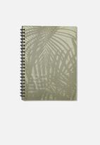 Typo - A4 campus notebook recycled - green