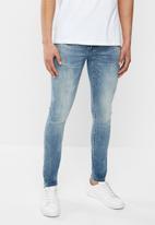 S.P.C.C. - Iron dust jeans - blue