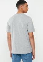 KAPPA - Authentic kimbelz 910 tee - grey & blue