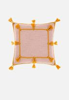 Linen House - Hannah cushion cover - petal
