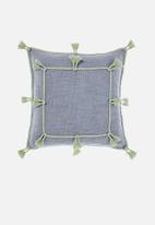 Linen House - Hannah cushion cover - sky