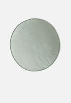 Linen House - Toro round cushion - stilwater