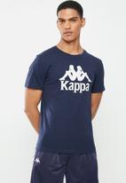 KAPPA - Authentic estessi 964 tee - navy & white