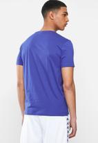 KAPPA - Authentic estessi a11 tee - blue & white