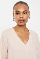 Vero Moda - Fatima long sleeve top - rose dust