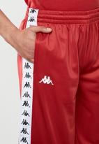 KAPPA - 222 Banda treadwell shorts - red