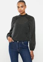 Vero Moda - Julia long sleeve top - black