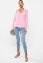 Vero Moda - Mila long sleeve top - rosebloom