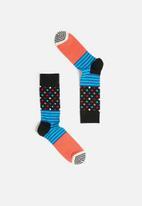 Happy Socks - Stripes and dots sock - multi
