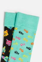 Happy Socks - Cat gift box - multi