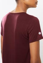 Cotton On - Maternity gym T-shirt - mulberry