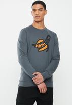 Mami Wata - Mami banana sweatshirt - charcoal
