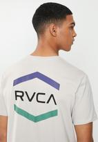 RVCA - Airborne short sleeve tee - cement