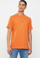 RVCA - Small RVCA short sleeve tee - burnt orange