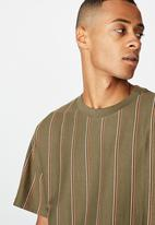 Cotton On - Downtown loose fit tee - khaki
