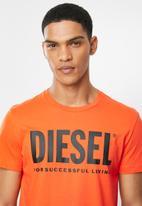 Diesel  - Diego logo short sleeve tee - orange