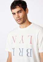 Cotton On - Tbar text T-shirt - vintage white