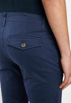 POLO - Mario narrow leg chino- navy