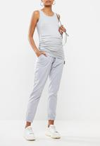 Missguided - Maternity 90s jogger - grey