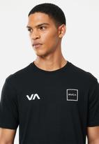 RVCA - Rvca lane short sleeve tee - black